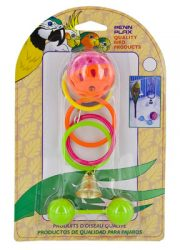 Penn-Plax-Olympic-Sport-Bird-Toy-Kit