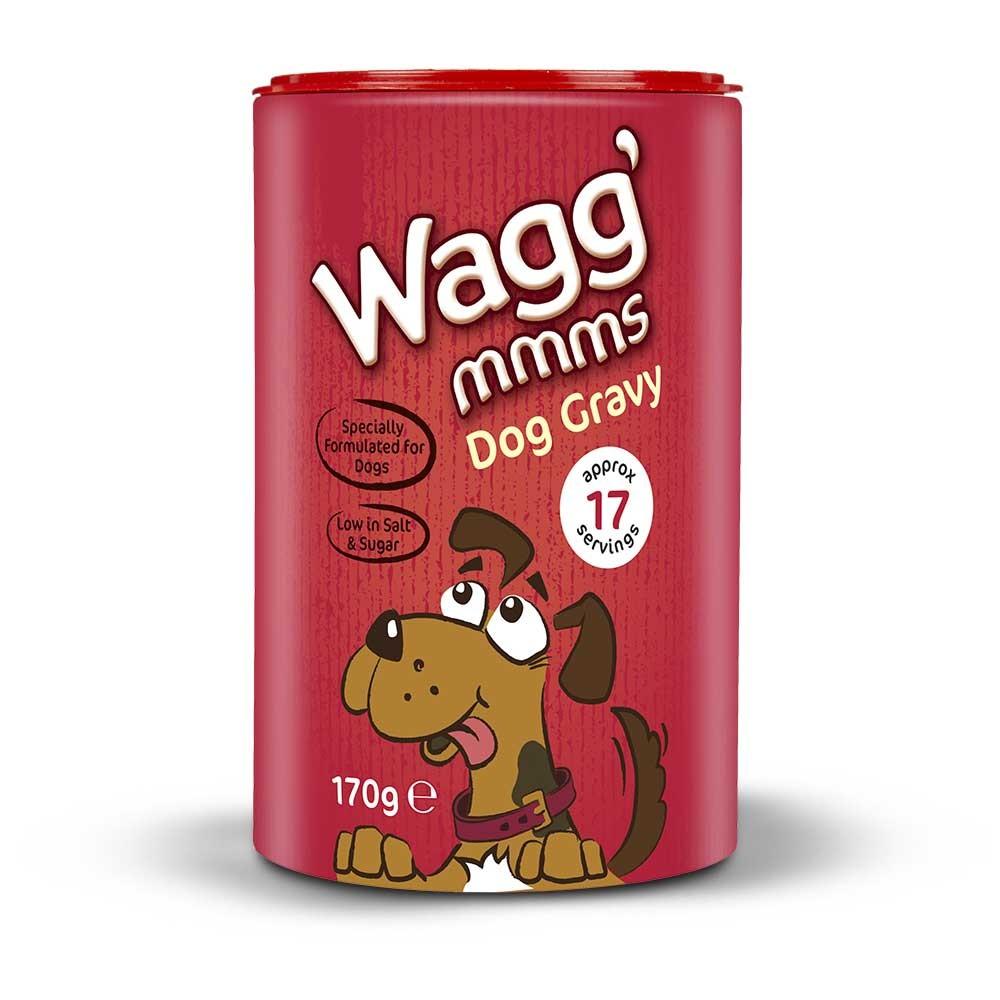 wagg dog gravy 170g   paw prints