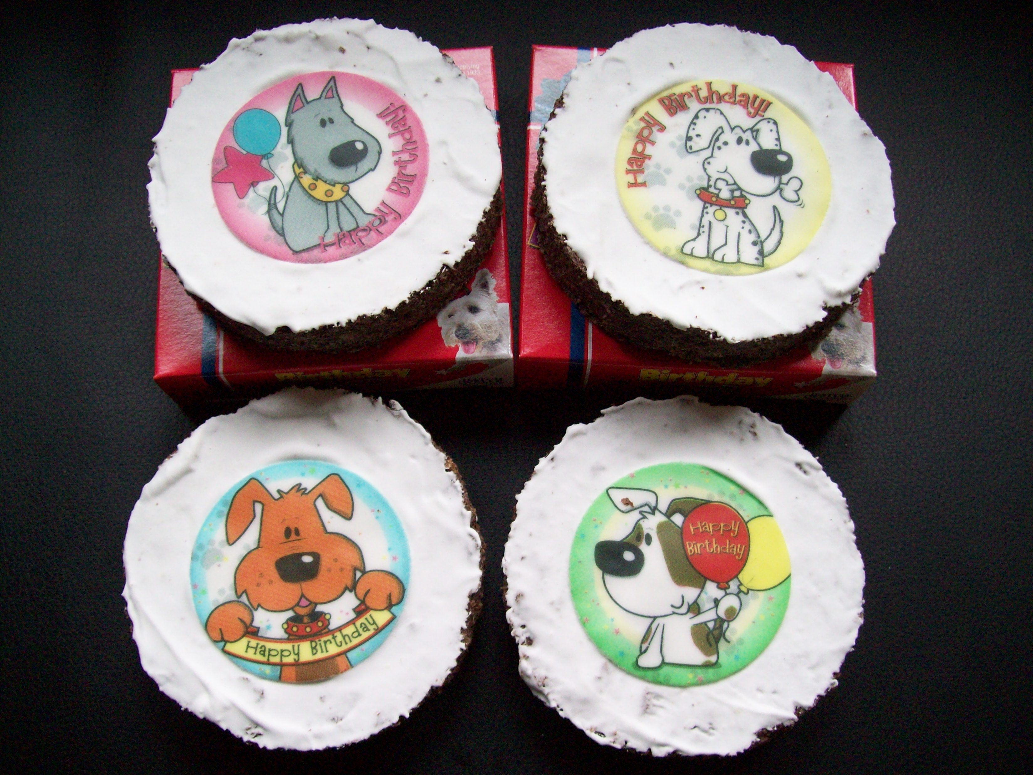 Dog Treat Birthday Cake
